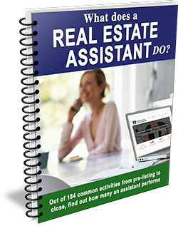 What does a real estate assistant do?
